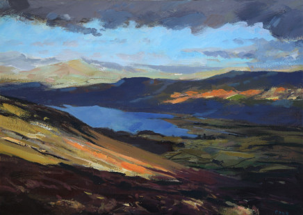 Colin Cook, Derwent Water from Catbells