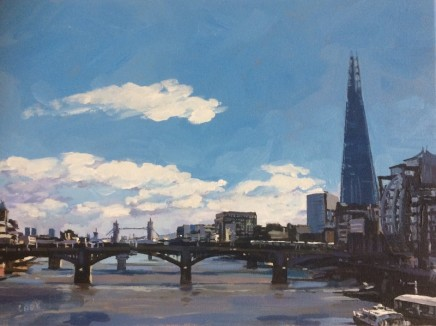 Colin Cook, Looking East along the Thames