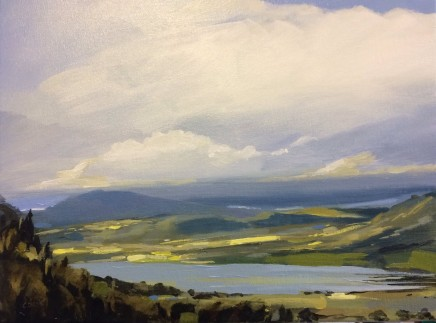 Colin Cook, Bassenthwaite from Across the Valley