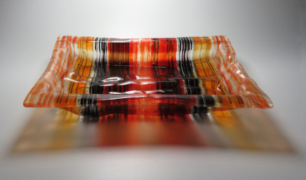 Teresa Chlapowski, City Reflections Cushion Bowl