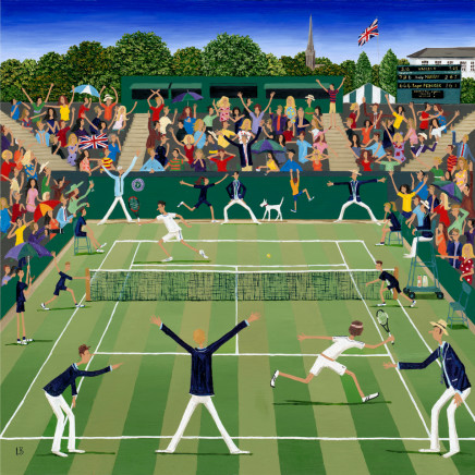 Louise Braithwaite, Tennis at Wimbledon