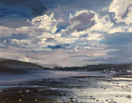 Colin Cook, Blue Morning at Coniston Water