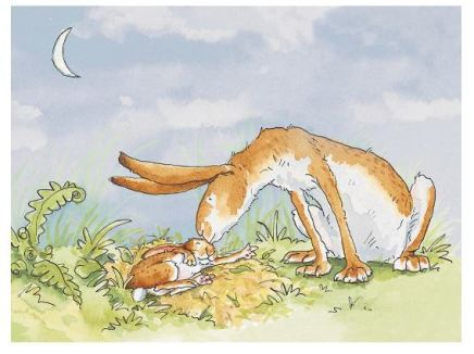 Anita Jeram, I love you right up to the moon