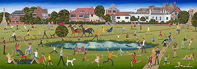 Louise Braithwaite, Rushmere Pond, Wimbledon