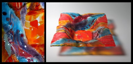 Teresa Chlapowski, Abstract Cushion Bowl