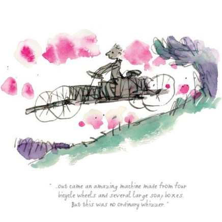 Quentin Blake/Roald Dahl, This Was No Ordinary Whizzer