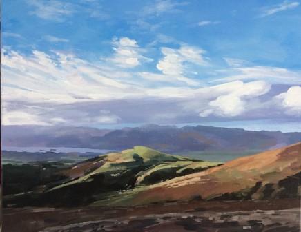 Colin Cook, Winter Morning on Blencathra