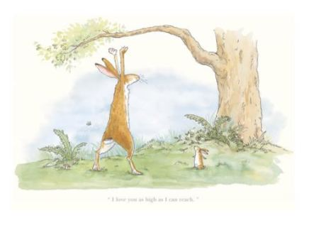 Anita Jeram, I love you as High as I can reach