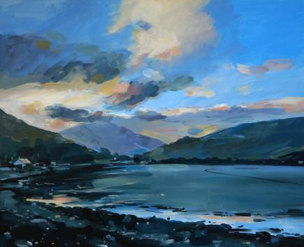 Colin Cook, The bay at Lochranza Arran