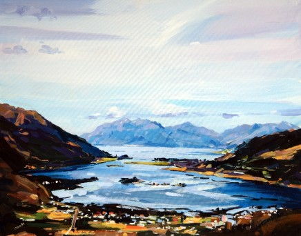 Colin Cook, Loch Leven from the Pap of Glencoe