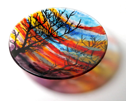 Teresa Chlapowski, Winter Sunset Bowl
