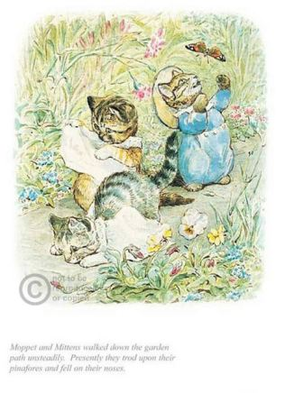 Beatrix Potter, Moppet and Mittens