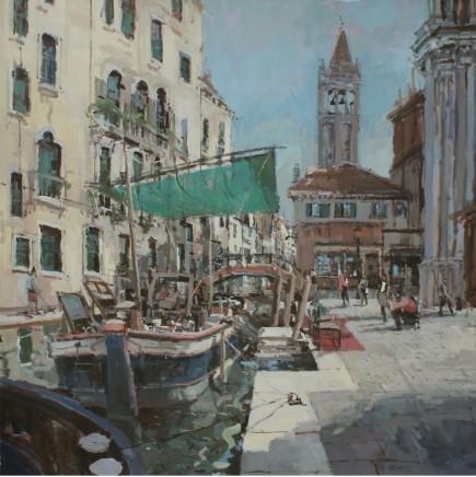 Robert E Wells RBA NEAC, Venice