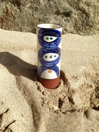 Fish Pye Pottery, Cylindrical Vase II