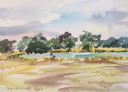 Kevin Williams, Hot Summer by Rushmere Pond