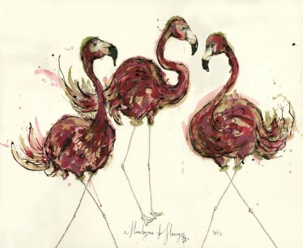 Anna Wright, A Flamboyance of Flamingoes