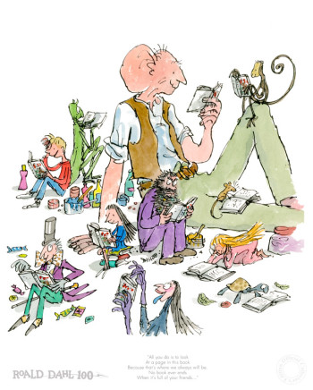 Quentin Blake/Roald Dahl, VERY LOW STOCK - Roald Dahl Birthday Edition