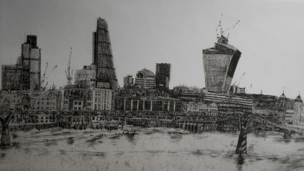 Melanie Bellis, London Skyline