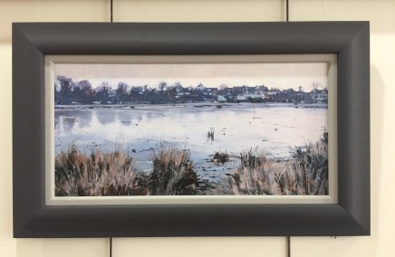 Colin Cook, Frosty Morning at Rushmere Pond, Wimbledon