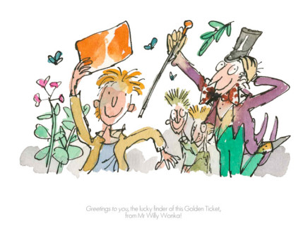 Quentin Blake/Roald Dahl, Greetings to You