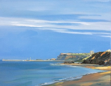 Colin Cook, Summer Evening - Sandsend to Whitby