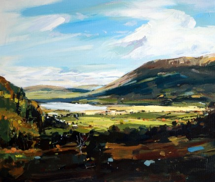 Colin Cook, Across the Valley