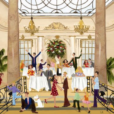 Louise Braithwaite, Tea at the Ritz