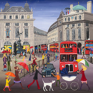Louise Braithwaite, Piccadilly Circus in The Rain