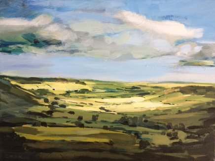 Colin Cook, Light Breaking over Little Fryup Dale