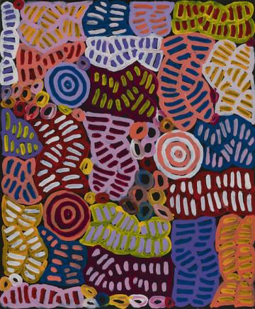 Betty Mbitjana, Untitled, 2017