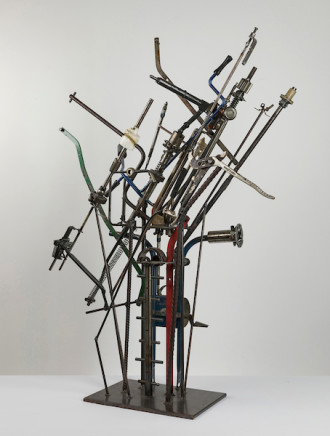 Paul Miller, Industrial Construction #1, , 201`6