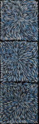 Jeannie Pitjara, Untitled Triptych