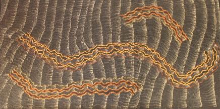 Debbie Brown Napaltjarri, Untitled, 2018
