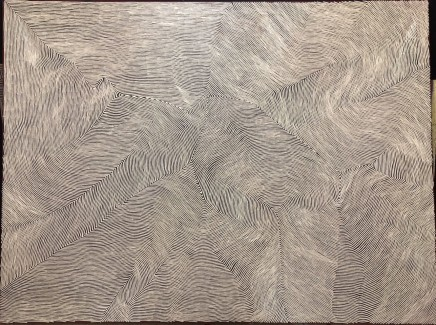 George Tjungurrayi, Untitled, 2018