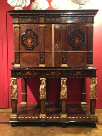 A French Louis XIV cabinet, France, mid 17th century