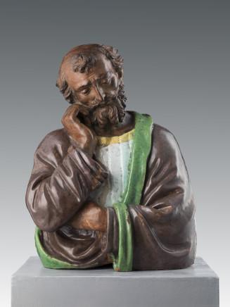 Benedetto Buglioni, St Joseph, Florence, ca. 1510-1520