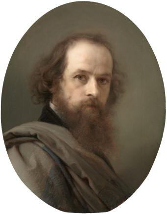 Giacomo Trécourt, Self-portrait, 1845-1850