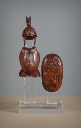 Models of an Armor and a Shield, Early 19th Century