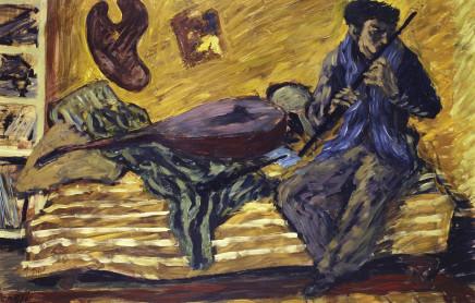 Corrado Cagli, Flute Player, 1935