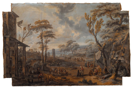 Giuseppe Zais, Landscape, 18th Century