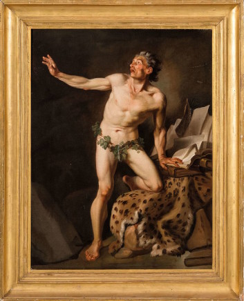Charles Andre' Van Loo, St Jerome, 18th Century