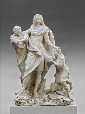 Sculptor active in Piedmont, ca. 1736-1740, Allegory with Charles Emmanuel III, Southern Italy, 18th century
