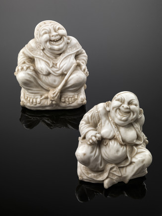 Giovanni Bonazza, Pair of Chinese pagoda figures