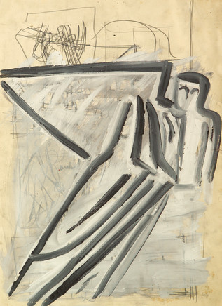 Mario Sironi, Sketch of the Winged Victory, 1938