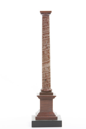 Workshop of Benedetto Boschetti, Red Marble Column, Rome, first half of the 19th Century