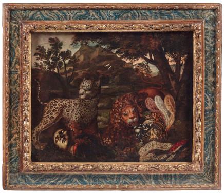 Pseudo Caroselli, Homo Homini Lupus, 1630 ca