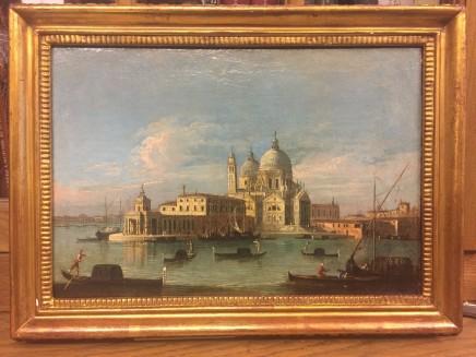 Master of the Fondazione Lamgmatt, Pair of Views of Venice, Early 18th Century