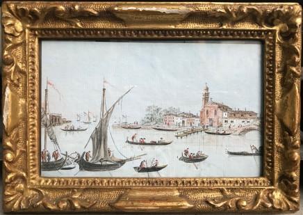 Giacomo Guardi, Series of six views of Venice