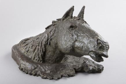 P. Donati, A bronze Horse's head, 20th century