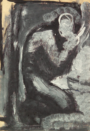 Mario Sironi, Figure, 1945 circa
